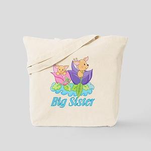 Flower Boat Big Sister Tote Bag