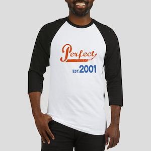 Perfect, Est 2001 Baseball Tee