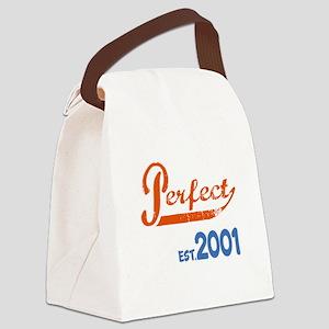 Perfect, Est 2001 Canvas Lunch Bag