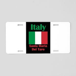 Santa Maria Del Taro Italy Aluminum License Plate