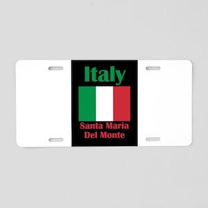 Santa Maria Del Monte Italy Aluminum License Plate