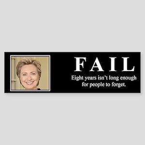 Hillary FAIL Bumper Sticker