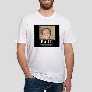 Hillary FAIL Fitted T-Shirt