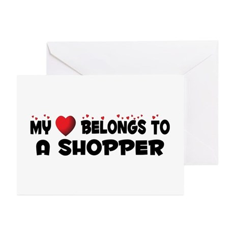 Belongs To A Shopper Greeting Cards (Pk of 20)