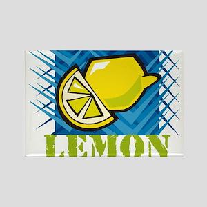 LEMON (4) Rectangle Magnet