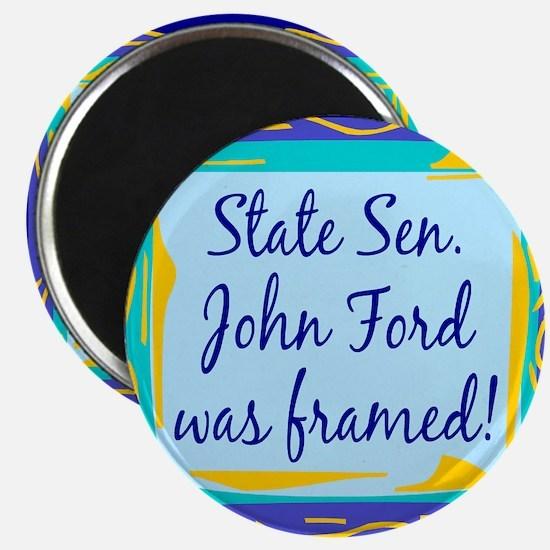 John Ford Framed Magnet