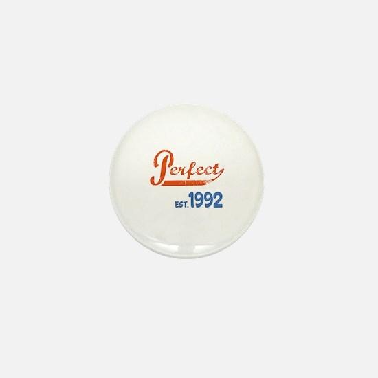 Perfect, Est 1992 Mini Button