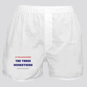 CUT PRICE MOVIES - THE THREE MUSKETEE Boxer Shorts