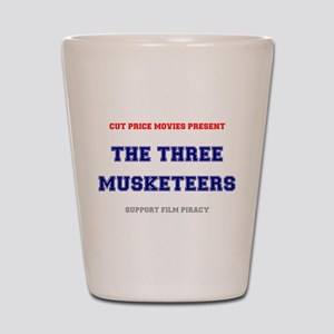 CUT PRICE MOVIES - THE THREE MUSKETEERS Shot Glass