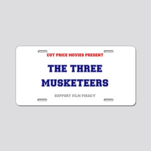 CUT PRICE MOVIES - THE THRE Aluminum License Plate