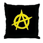 Anarchist Throw Pillow