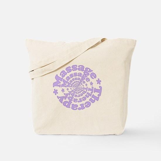 Purple Massage Tote Bag