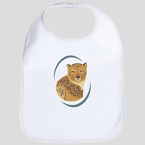 Wild Cheetah Bib