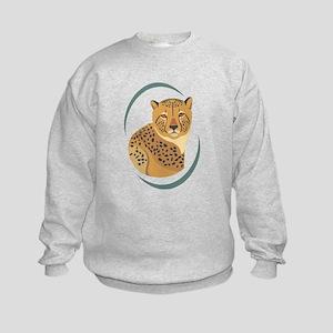 Wild Cheetah Kids Sweatshirt