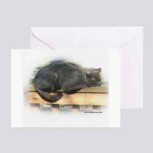 Jonesy Sleeping Greeting Cards (Pk of 10)