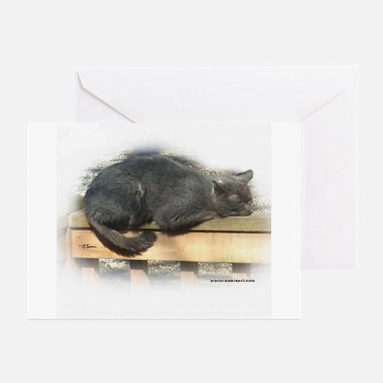 Jonesy Sleeping Greeting Cards (Pk of 10)