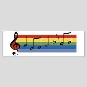 Music Therapy Bumper Sticker