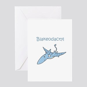 Blakeodactyl Greeting Card