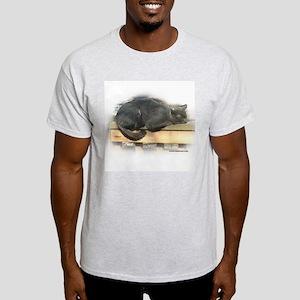 Jonesy Sleeping Ash Grey T-Shirt
