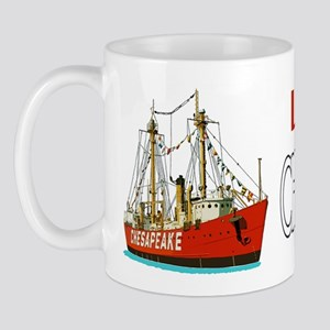 The Lightship Chesapeake Mug