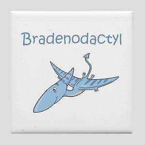 Bradenodactyl Tile Coaster