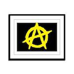 Anarchist Framed Panel Print