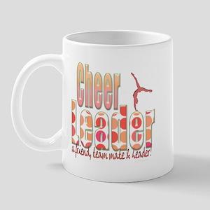 Polka Dot Cheerleader Mug