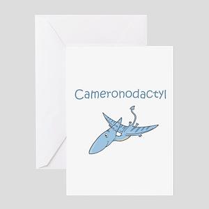 Cameronodactyl Greeting Card