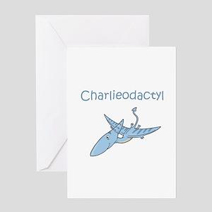 Charlieodactyl Greeting Card