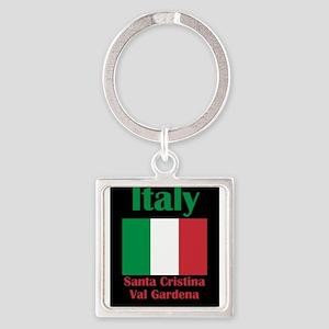 Santa Cristina Val Gardena Italy Keychains
