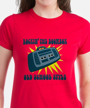 Rockin' The Boombox Women's Dark T-Shirt