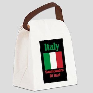 Sannicandro Di Bari Italy Canvas Lunch Bag