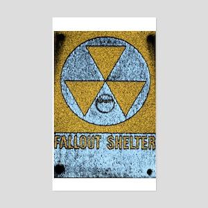 Bomb Shelter Rectangle Sticker