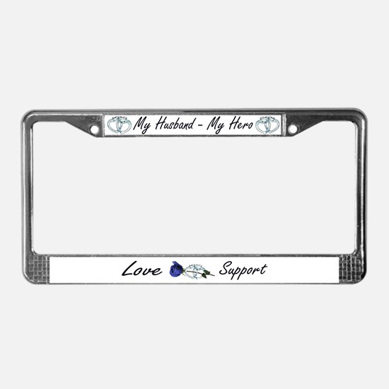 Cool Handcuffs License Plate Frame