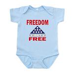 Freedom Isnt Free Body Suit
