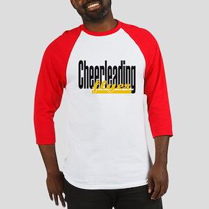 (Yellow) Cheerleading Flyer Baseball Jersey