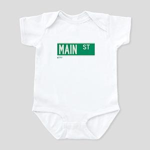 Main Street in NY Infant Bodysuit