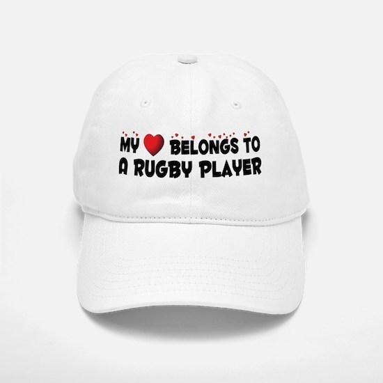 Belongs To A Rugby Player Baseball Baseball Cap