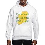 Fightin' Proverb Hooded Sweatshirt