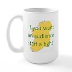 Fightin' Proverb Large Mug