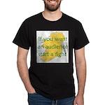 Fightin' Proverb Dark T-Shirt