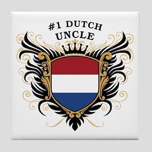 Number One Dutch Uncle Tile Coaster