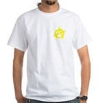 Anarchist White T-Shirt