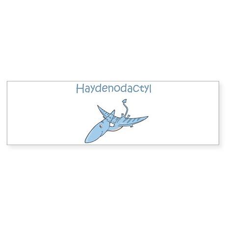 Haydenodactyl Bumper Sticker