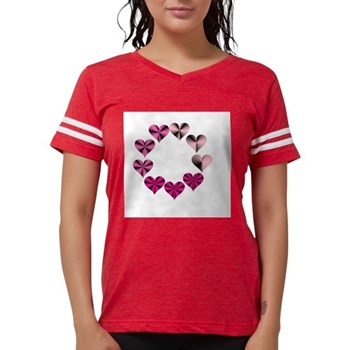 Circle of Pink Hearts T-Shirt