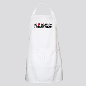 Belongs To A Respiratory Therapist BBQ Apron