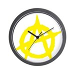 Anarchist Wall Clock
