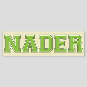 Nader 08 Bumper Sticker