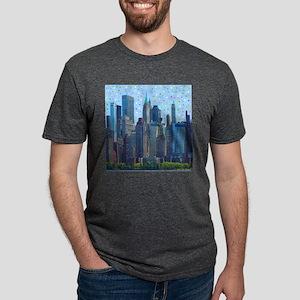 New York City Meteor Shower T-Shirt
