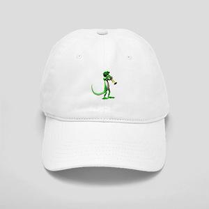 Blues Trumpet Gecko Cap